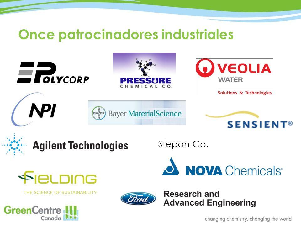 Once patrocinadores industriales