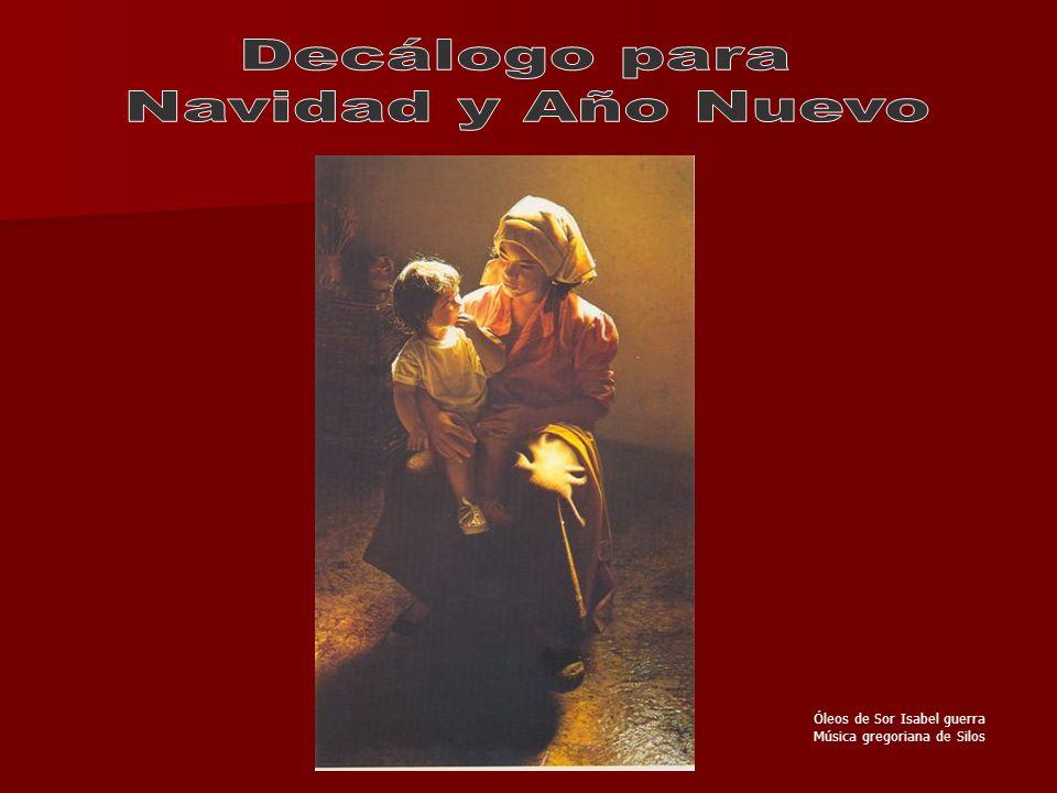 Decálogo para Navidad y Año Nuevo