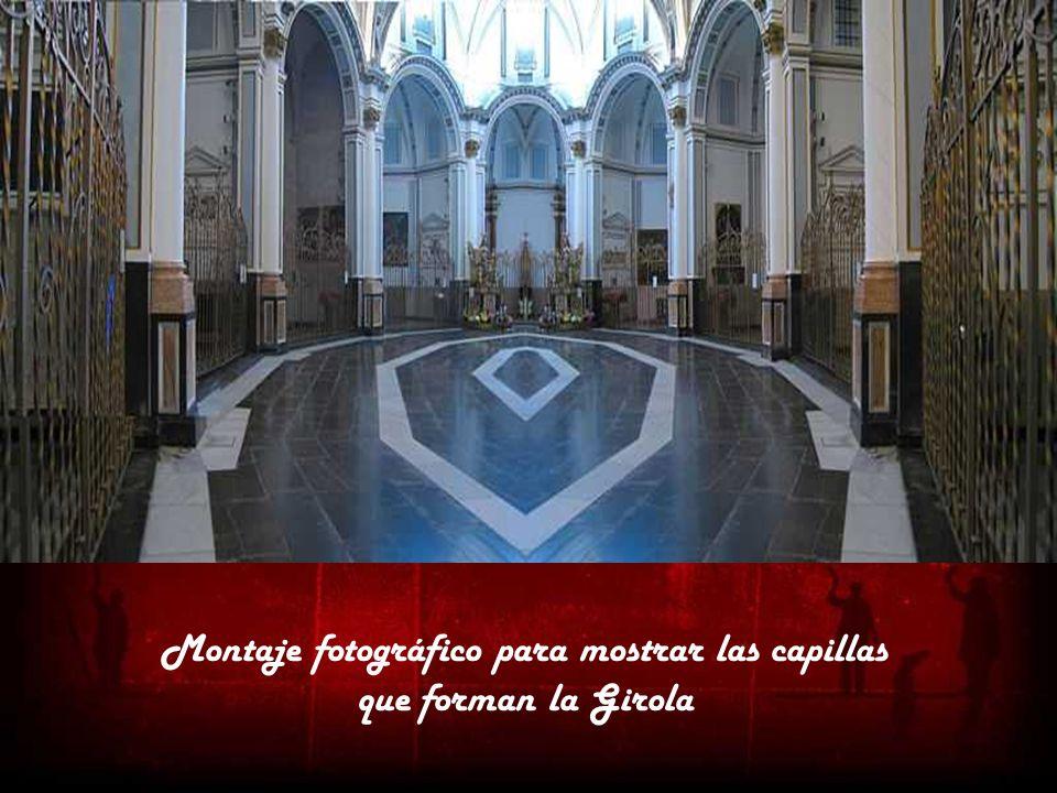 Montaje fotográfico para mostrar las capillas