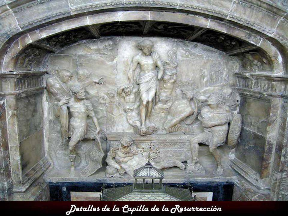Detalles de la Capilla de la Resurrección