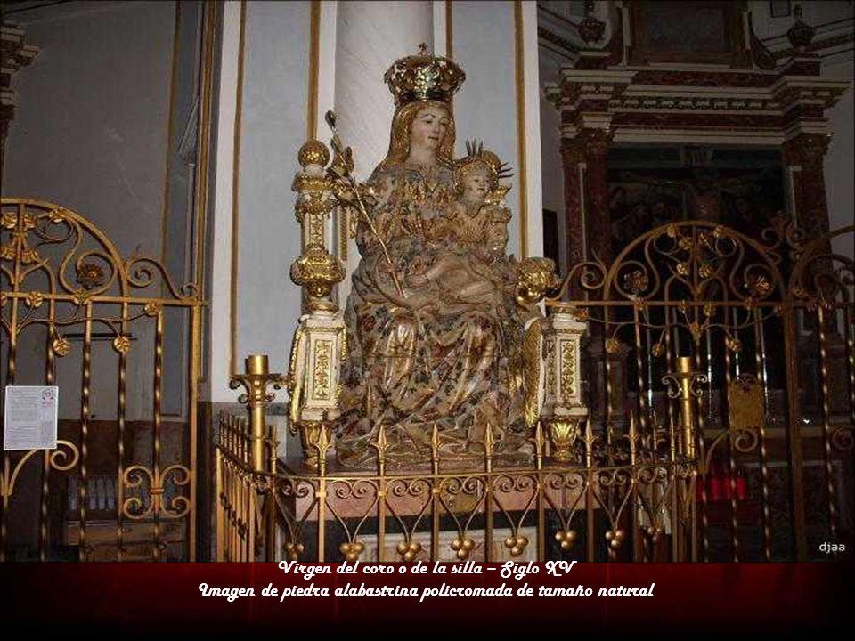 Virgen del coro o de la silla – Siglo XV