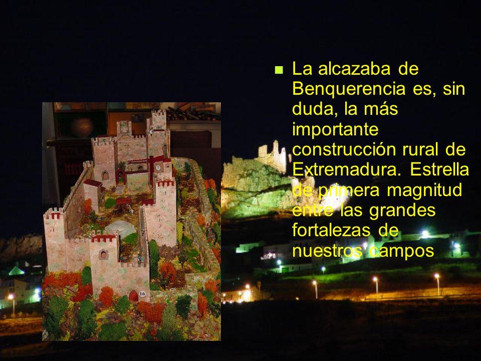 La alcazaba de Benquerencia es, sin duda, la más importante construcción rural de Extremadura.