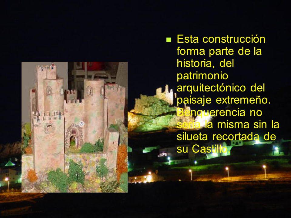 Esta construcción forma parte de la historia, del patrimonio arquitectónico del paisaje extremeño.