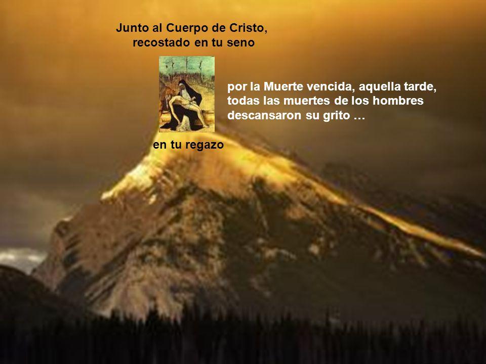 Junto al Cuerpo de Cristo,