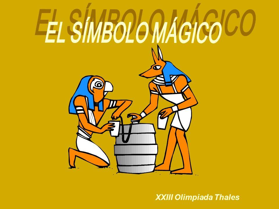 EL SÍMBOLO MÁGICO XXIII Olimpiada Thales