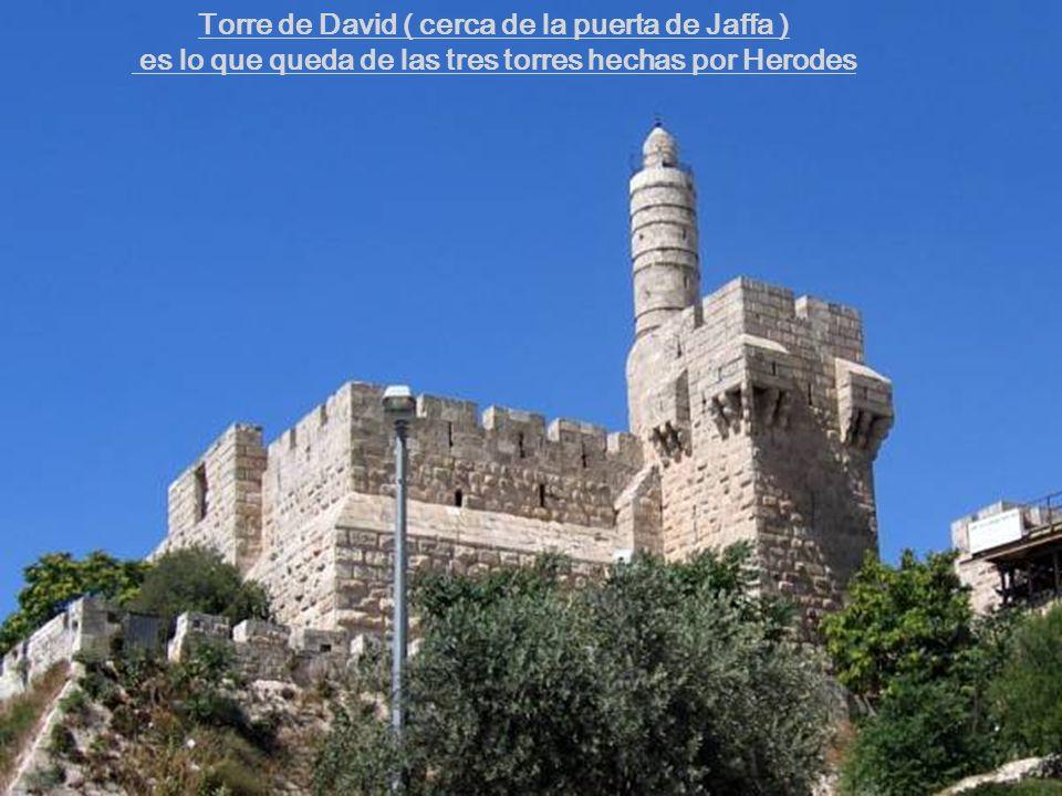 Torre de David ( cerca de la puerta de Jaffa )