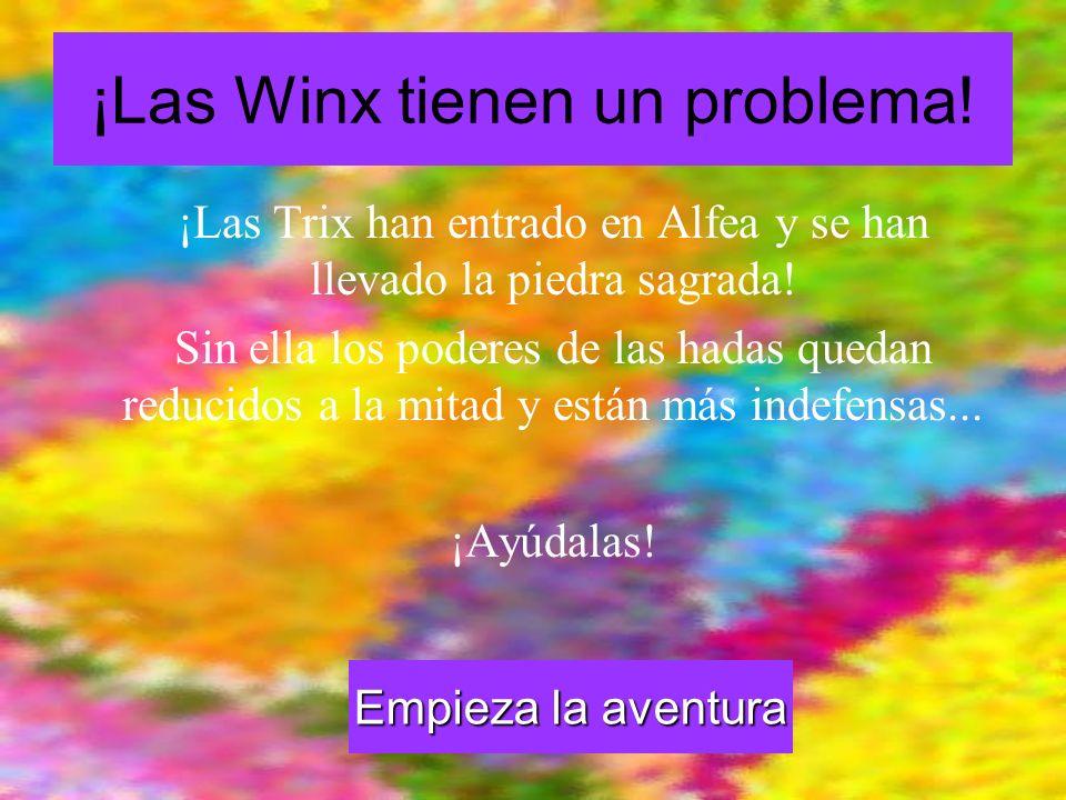 ¡Las Winx tienen un problema!
