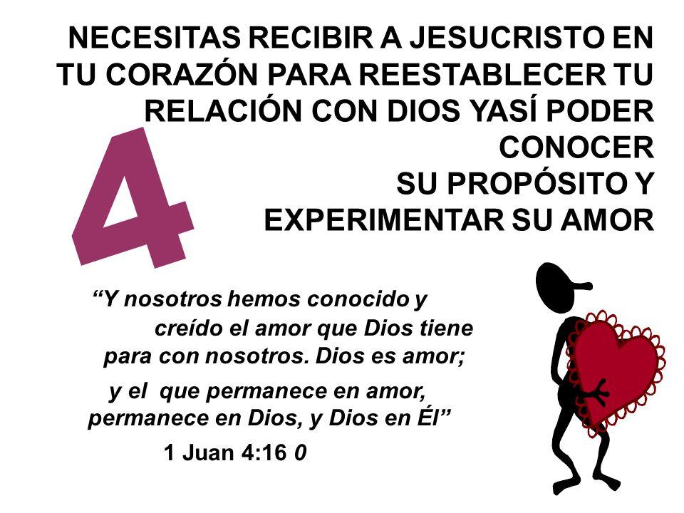 y el que permanece en amor, permanece en Dios, y Dios en Él