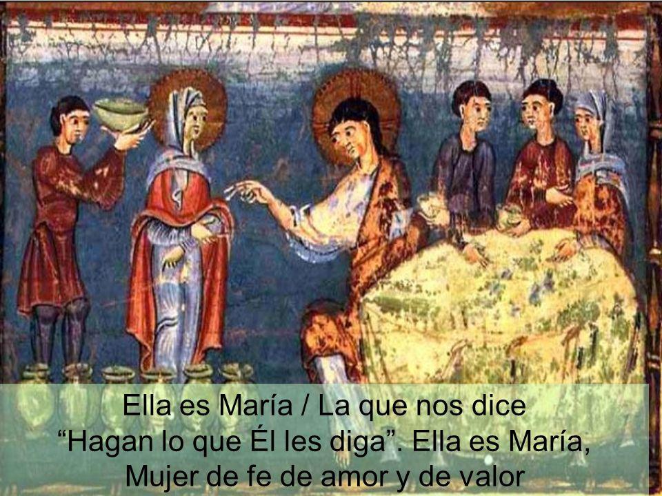Ella es María / La que nos dice