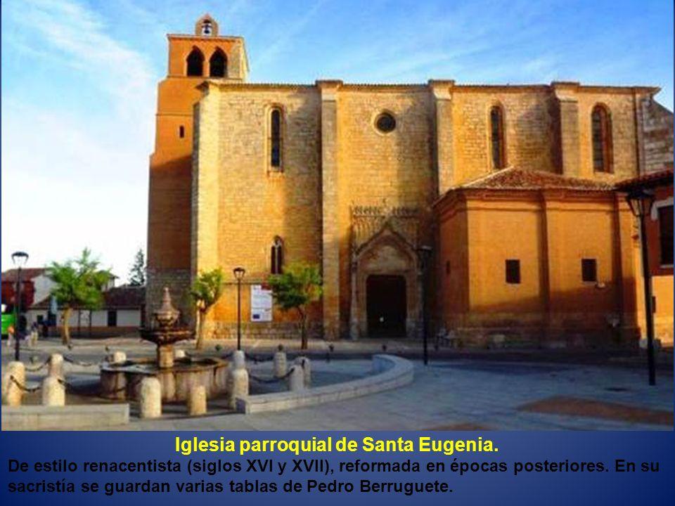 Iglesia parroquial de Santa Eugenia.