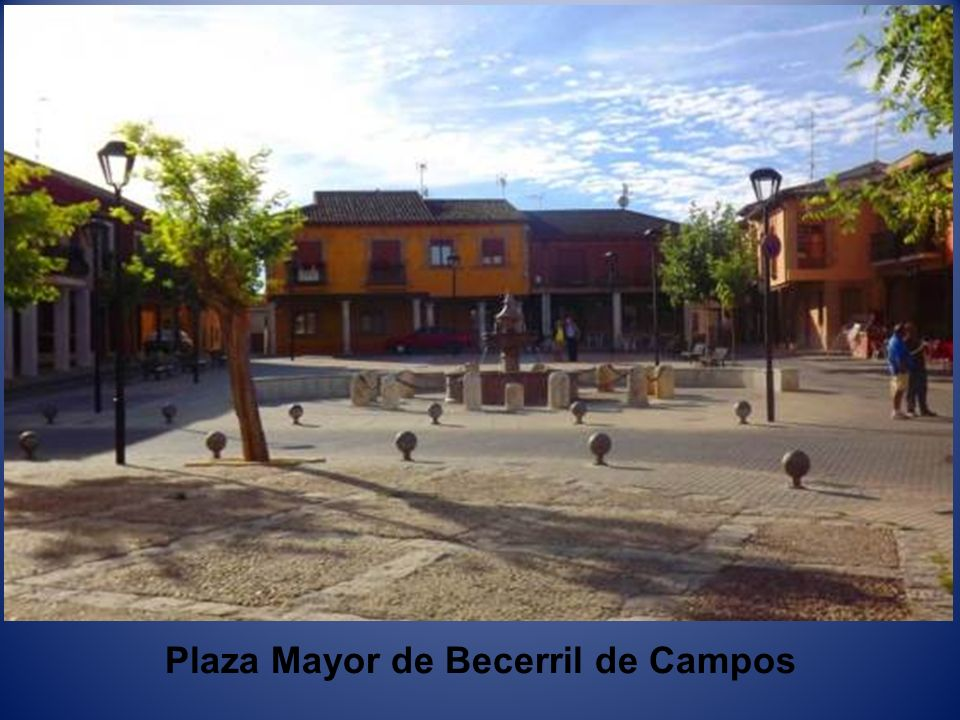 Plaza Mayor de Becerril de Campos
