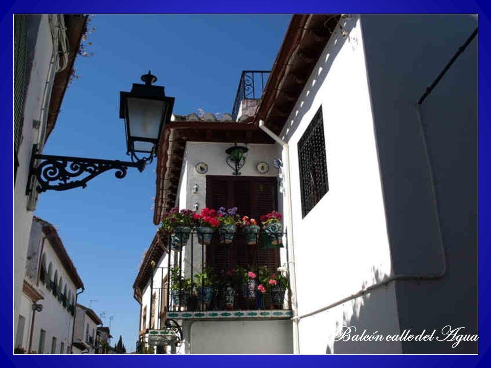 Balcón calle del Agua