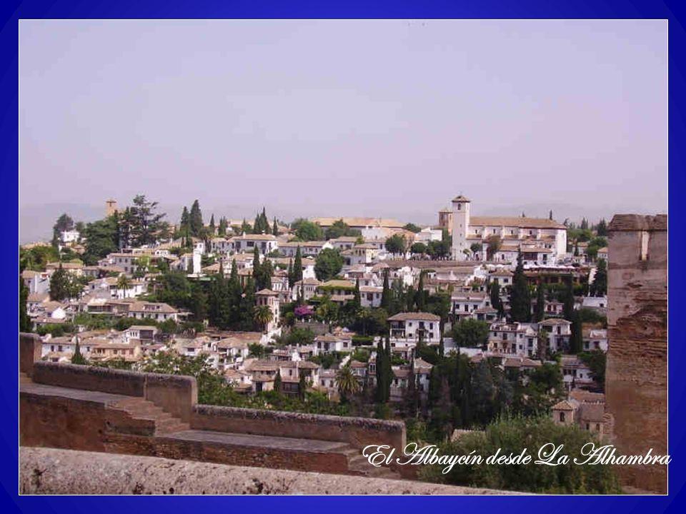 El Albaycín desde La Alhambra