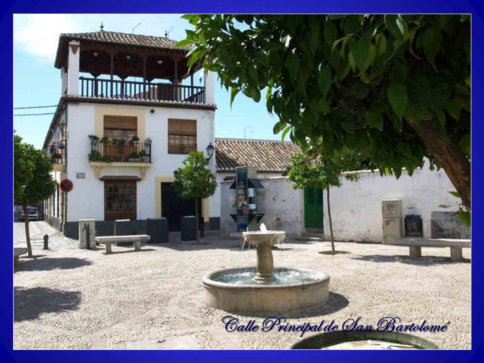 Calle Principal de San Bartolomé