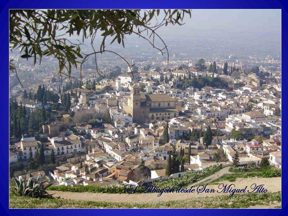 El Albaycin desde San Miguel Alto