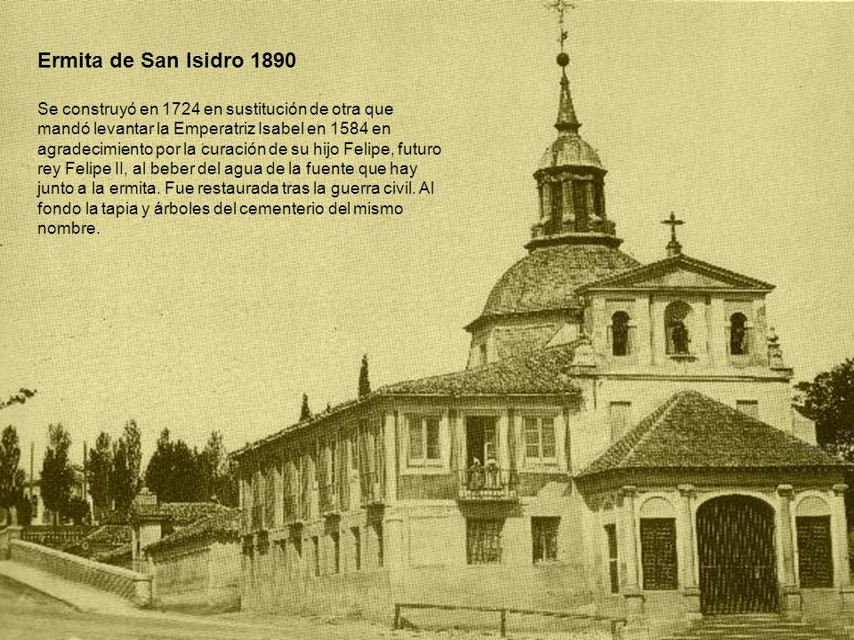 Ermita de San Isidro 1890