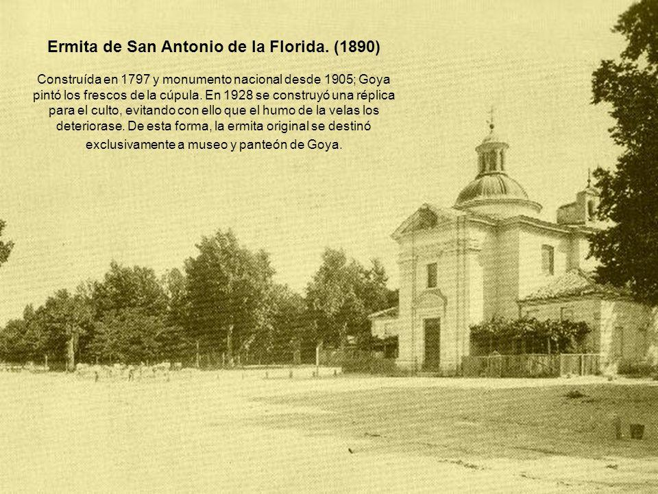Ermita de San Antonio de la Florida. (1890)