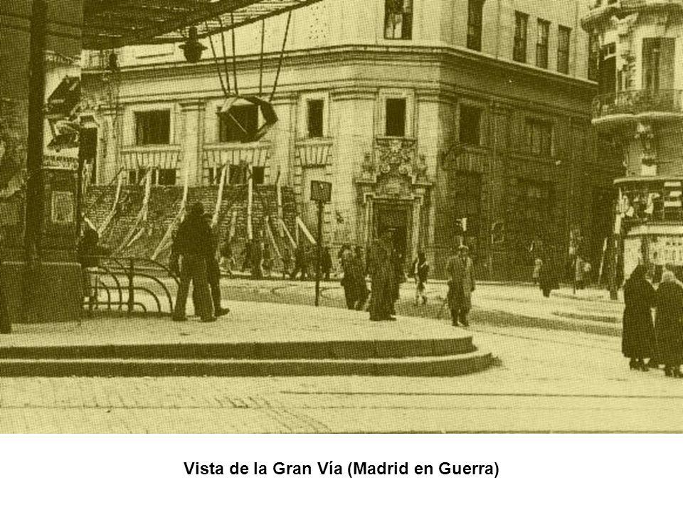 Vista de la Gran Vía (Madrid en Guerra)