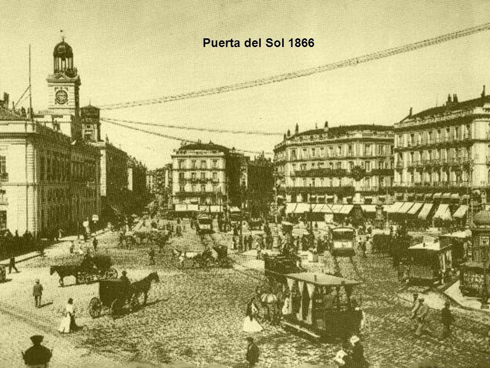 Puerta del Sol 1866