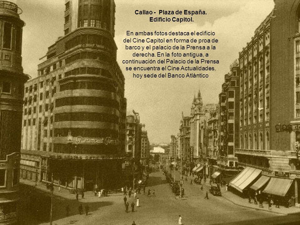 Callao - Plaza de España.