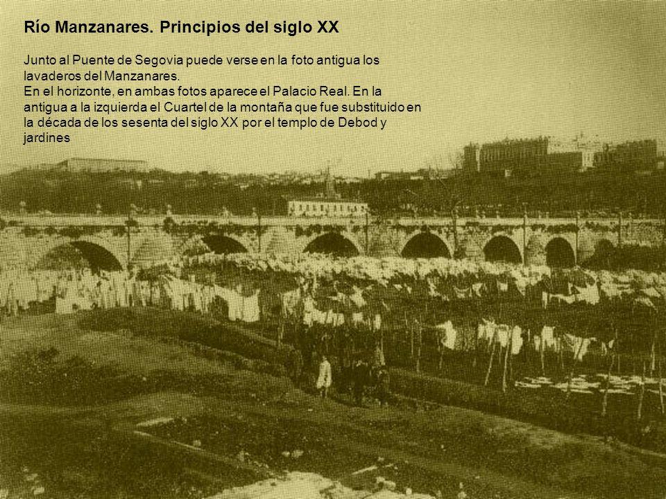 Río Manzanares. Principios del siglo XX