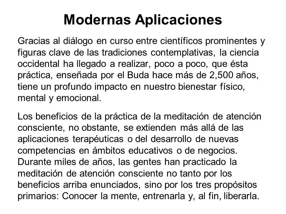 Modernas Aplicaciones