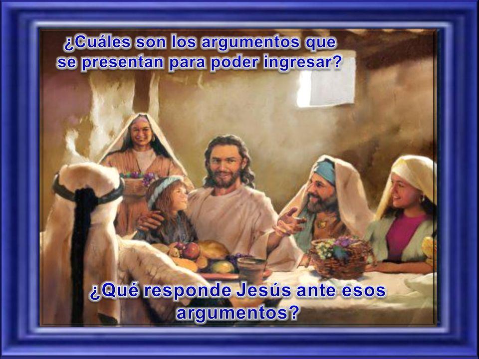 ¿Qué responde Jesús ante esos argumentos