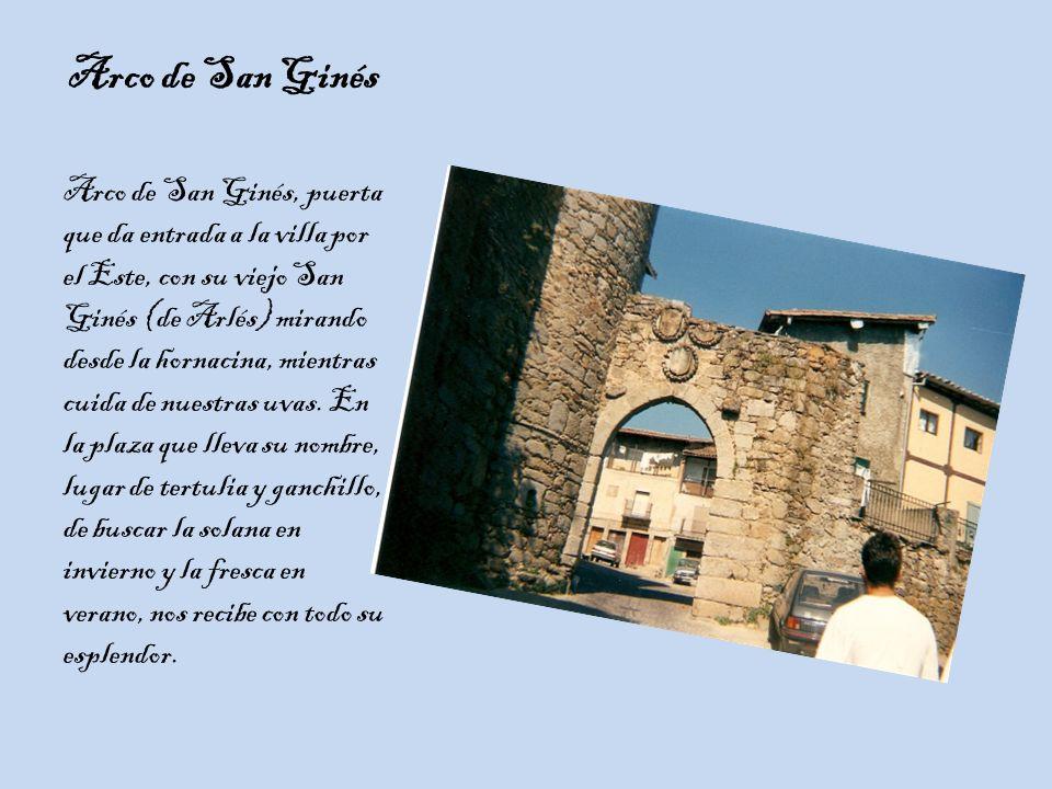 Arco de San Ginés