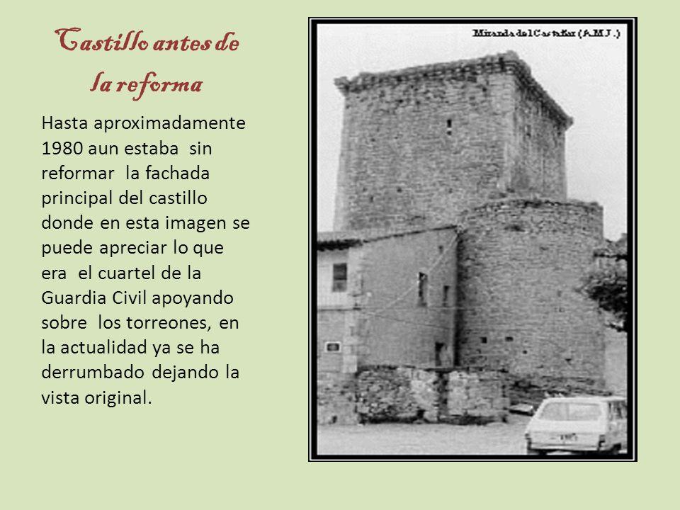 Castillo antes de la reforma