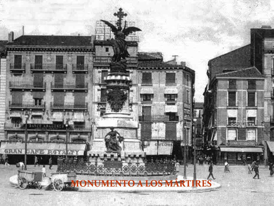 MONUMENTO A LOS MÁRTIRES