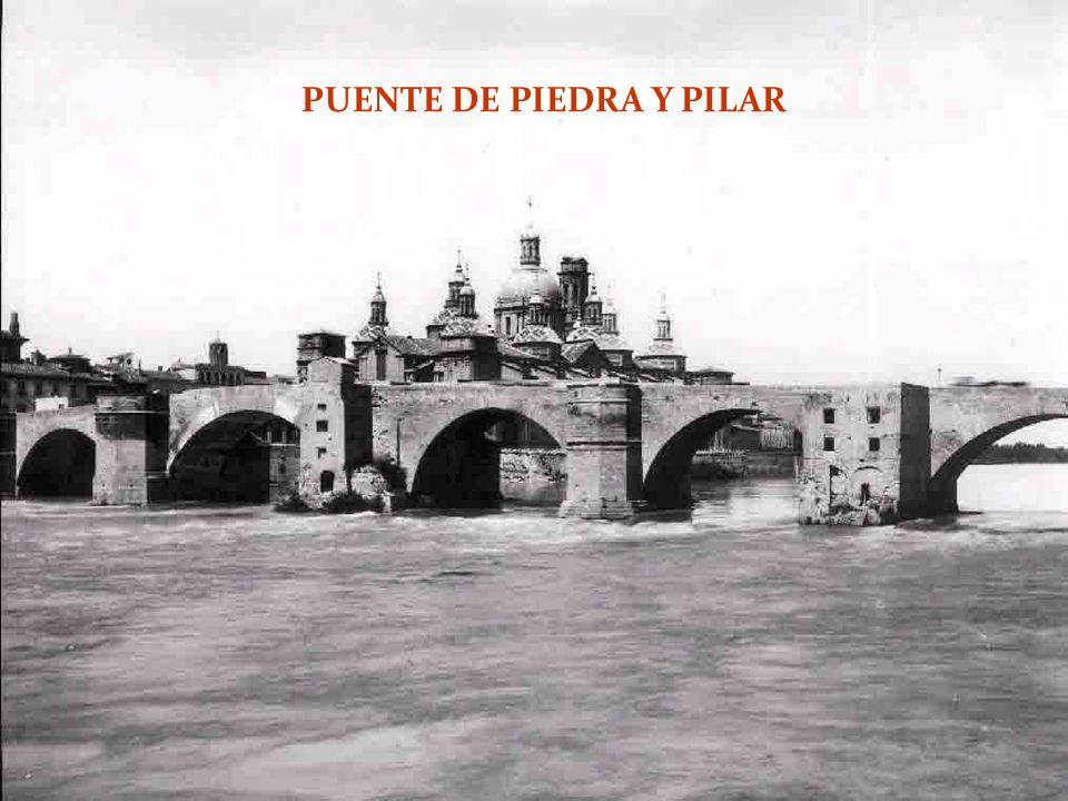 PUENTE DE PIEDRA Y PILAR
