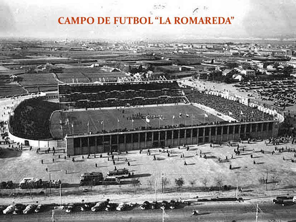 CAMPO DE FUTBOL LA ROMAREDA