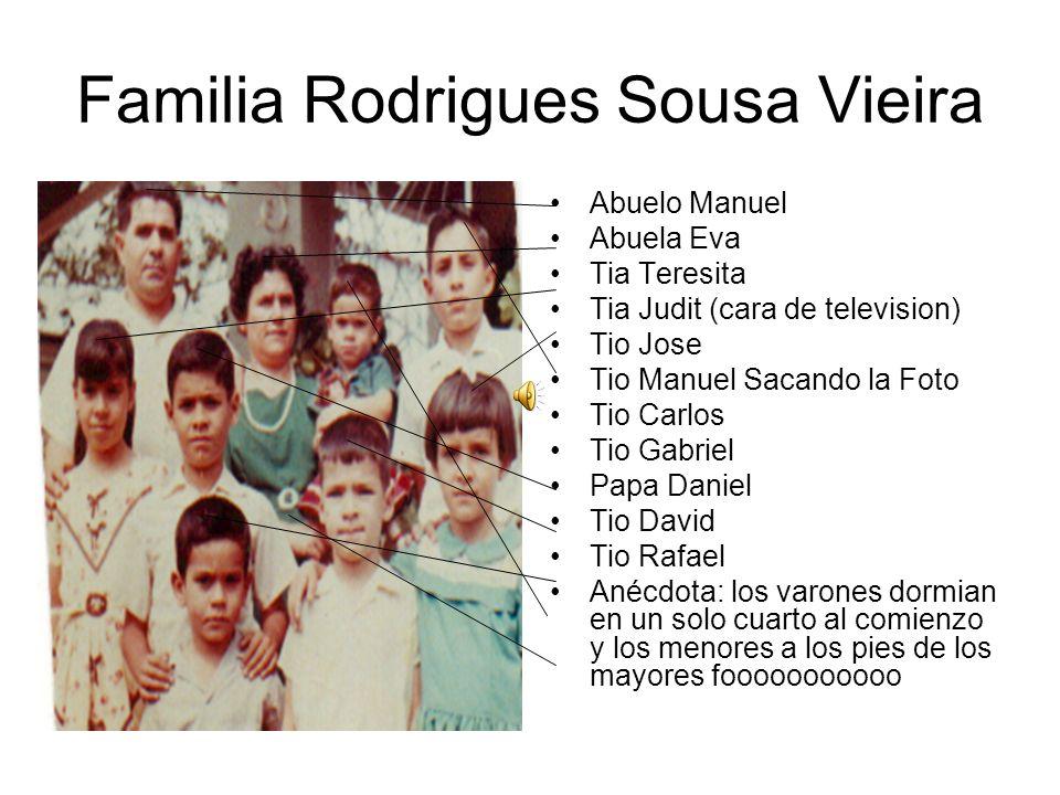 Familia Rodrigues Sousa Vieira