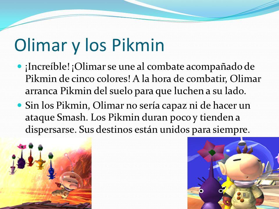 Olimar y los Pikmin