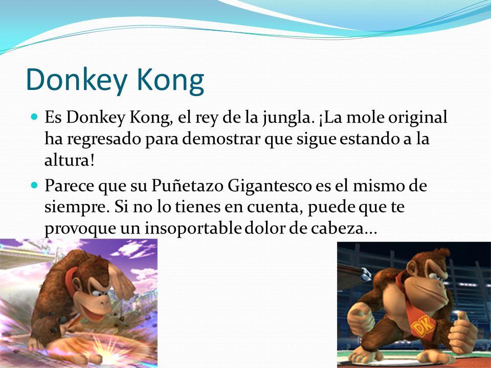 Donkey Kong Es Donkey Kong, el rey de la jungla. ¡La mole original ha regresado para demostrar que sigue estando a la altura!