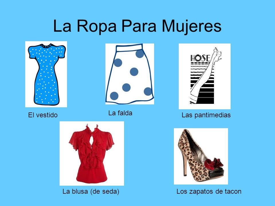 La Ropa Para Mujeres La falda El vestido Las pantimedias