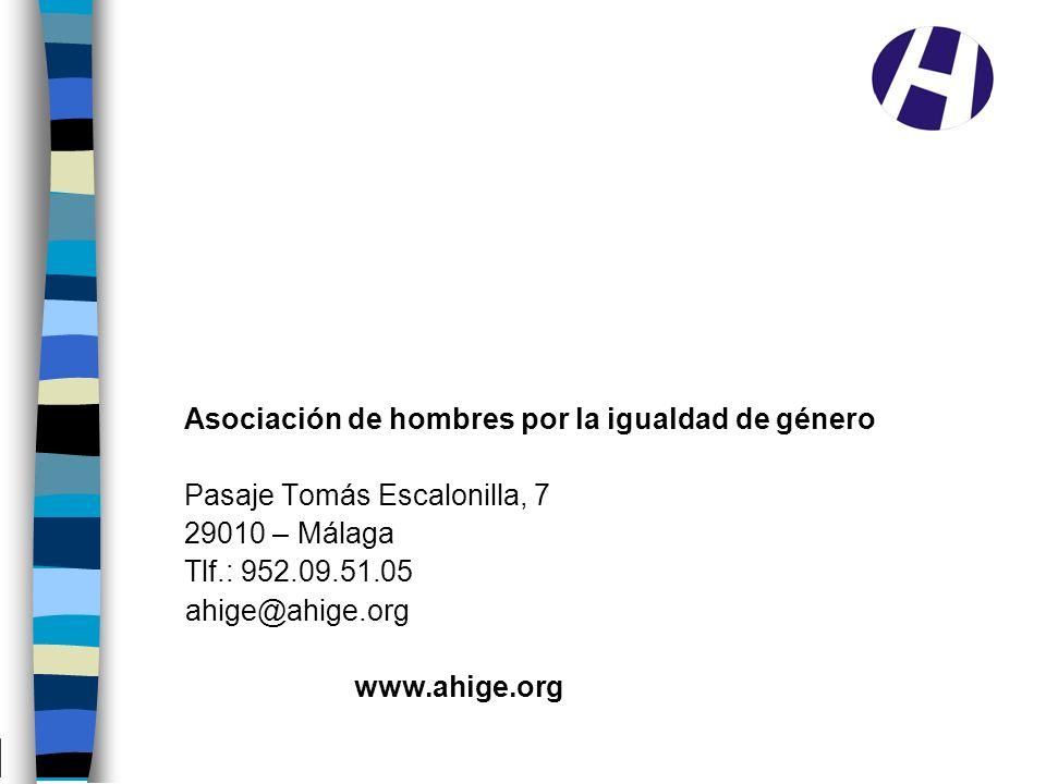 Asociación de hombres por la igualdad de género