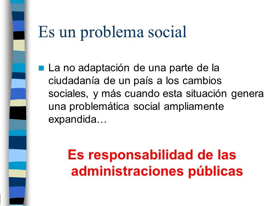 Es responsabilidad de las administraciones públicas