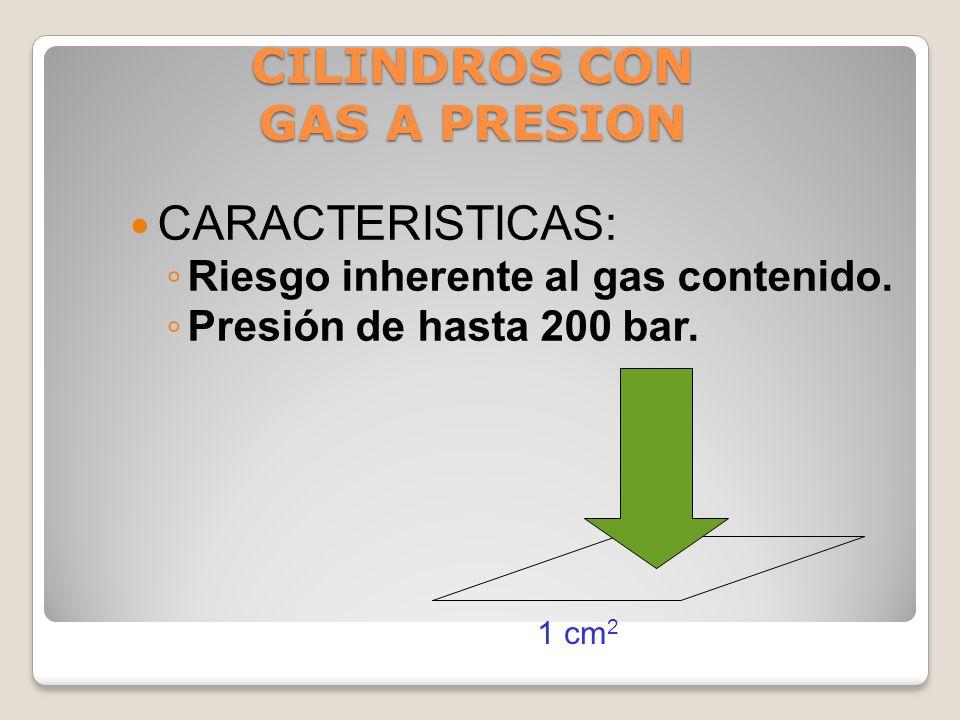CILINDROS CON GAS A PRESION