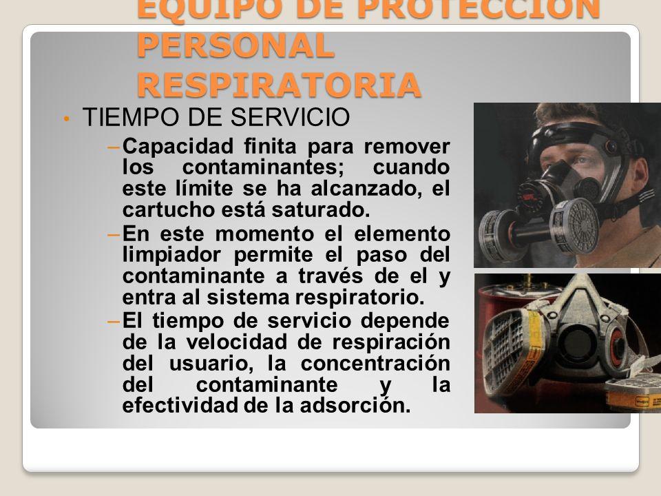 EQUIPO DE PROTECCION PERSONAL RESPIRATORIA