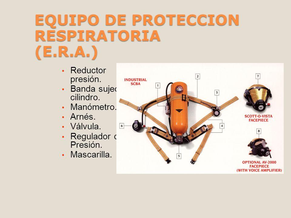 EQUIPO DE PROTECCION RESPIRATORIA (E.R.A.)
