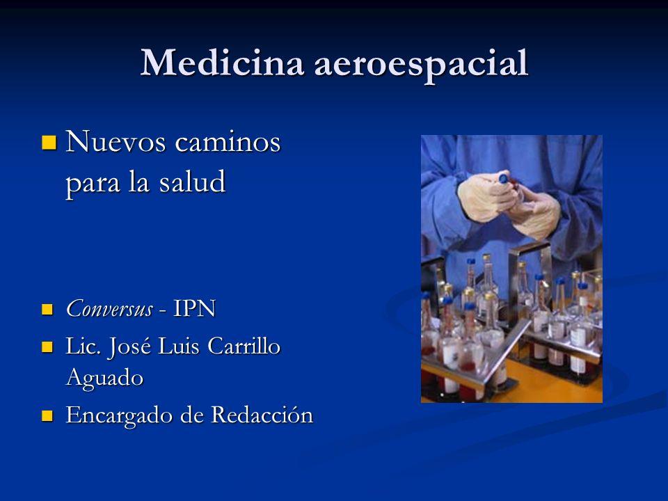 Medicina aeroespacial