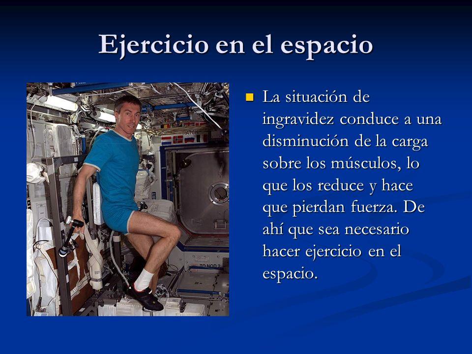 Ejercicio en el espacio