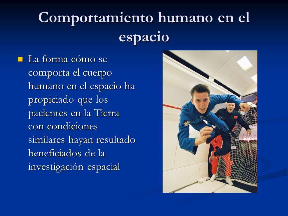 Comportamiento humano en el espacio