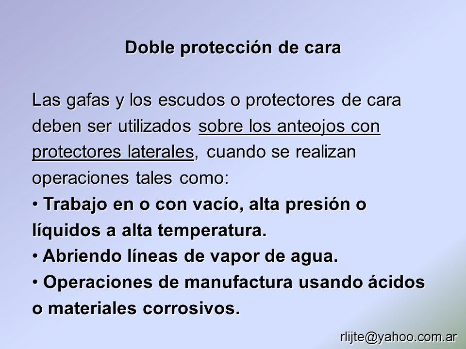 Doble protección de cara