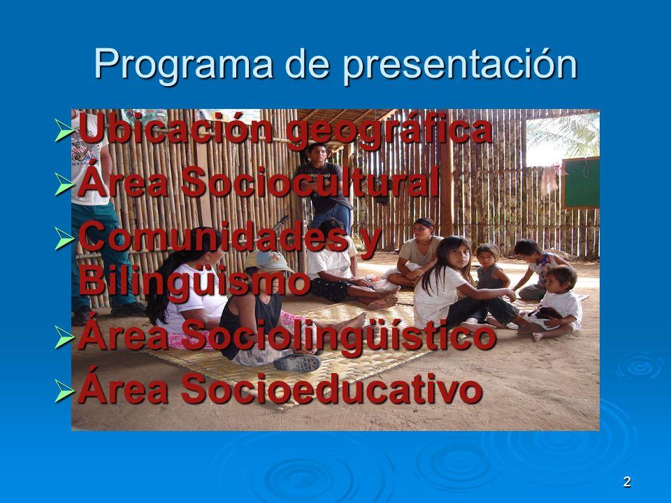 Programa de presentación