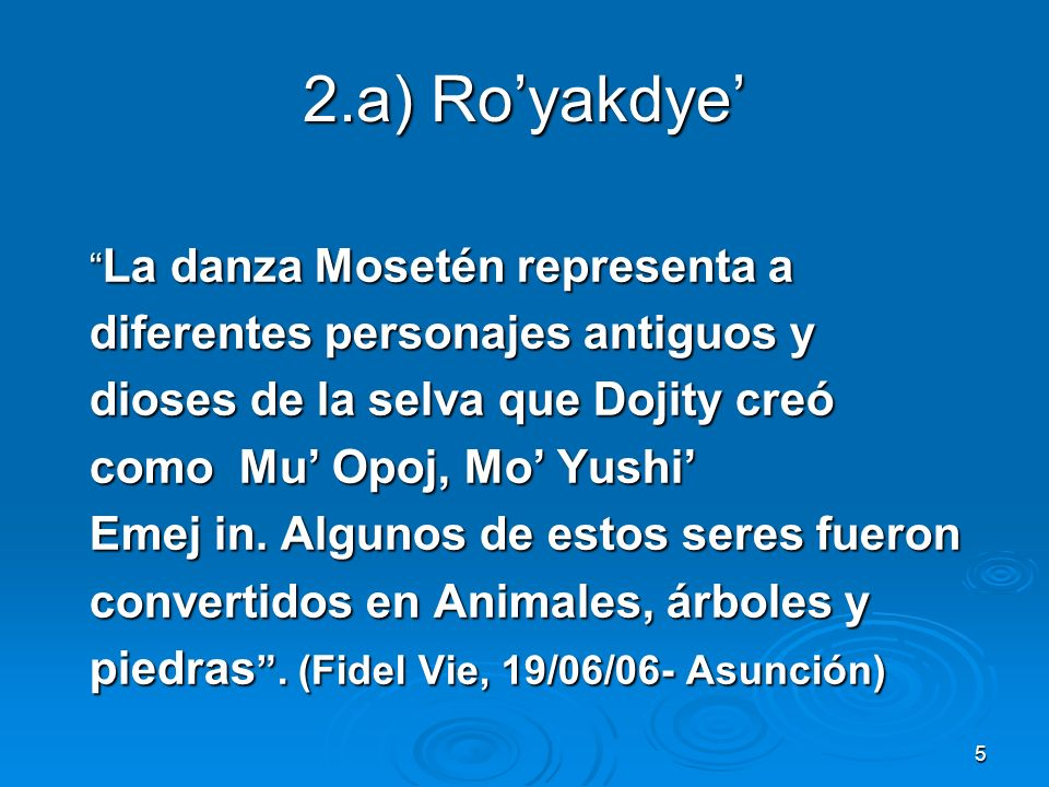2.a) Ro'yakdye' diferentes personajes antiguos y