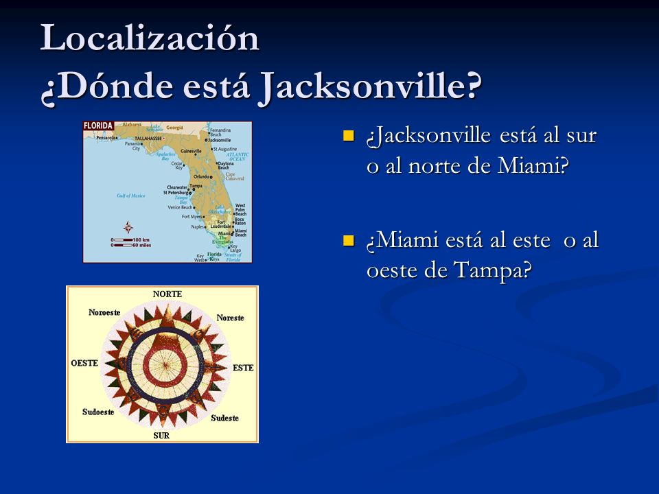 Localización ¿Dónde está Jacksonville