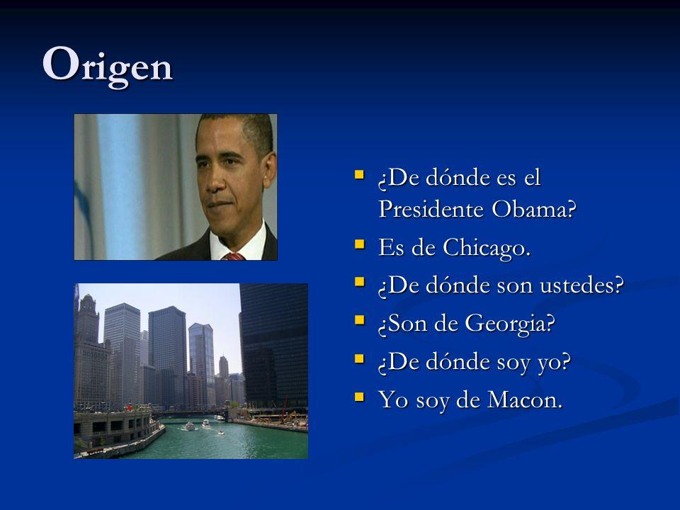 Origen ¿De dónde es el Presidente Obama Es de Chicago.