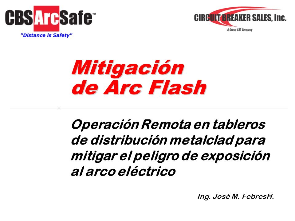 Mitigación de Arc Flash